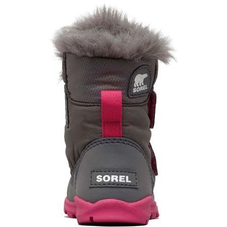 Dívčí zimní boty - Sorel CHILDRENS WHITNEY VELCRO - 4