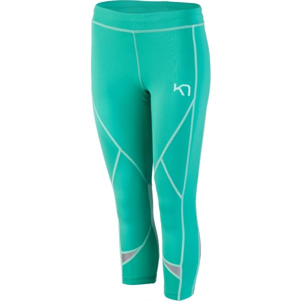 KARI TRAA LOUISE 3/4 TIGHTS zöld XS - Női legging
