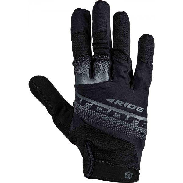Arcore 4RIDE bílá M - Cyklistické rukavice