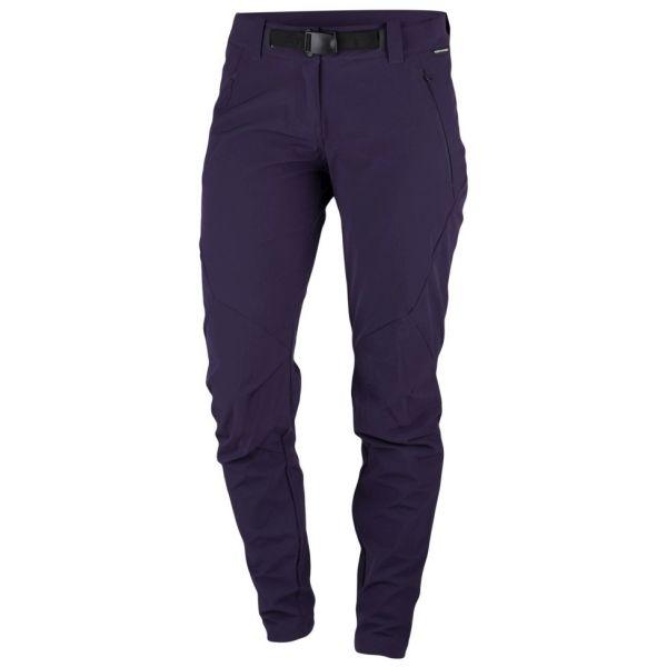 Northfinder ZOEY fialová S - Dámské kalhoty