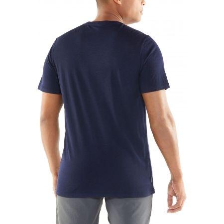 Мъжка тениска - Icebreaker TECH LITE SS CREWE LINEWORK - 3