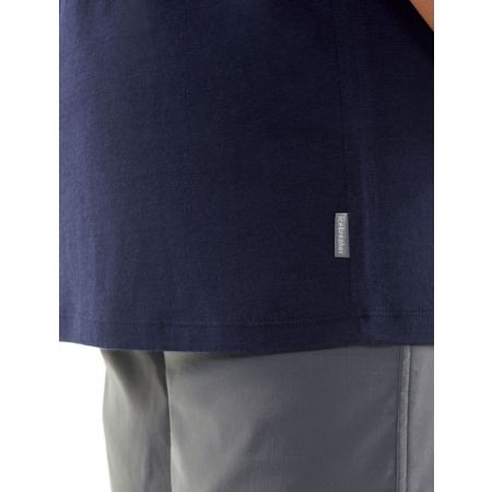 Мъжка тениска - Icebreaker TECH LITE SS CREWE LINEWORK - 5