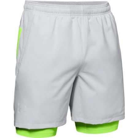 Under Armour LAUNCH SW 2-IN-1 SHORT - Pánske šortky