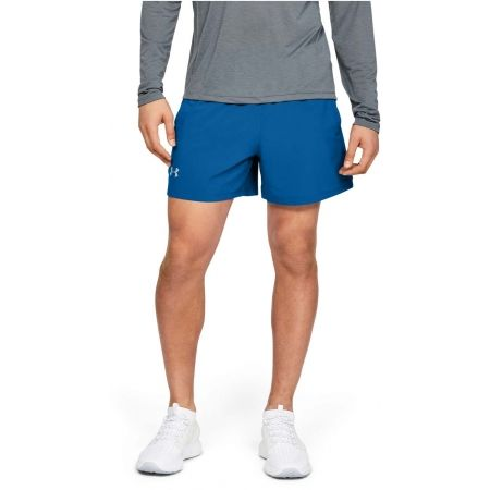 Pánske šortky - Under Armour LAUNCH SW 5'' EXPOSED SHORT - 4