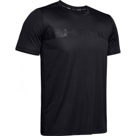 Under Armour RUN WARPED SHORTSLEEVE - Férfi póló
