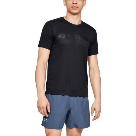 Pánské tričko - Under Armour RUN WARPED SHORTSLEEVE - 4