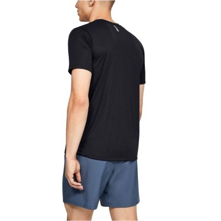 Pánské tričko - Under Armour RUN WARPED SHORTSLEEVE - 5