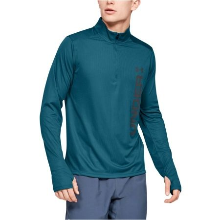 Pánské triko - Under Armour SPEED STRIDE SPLIT 1/4 ZIP - 4