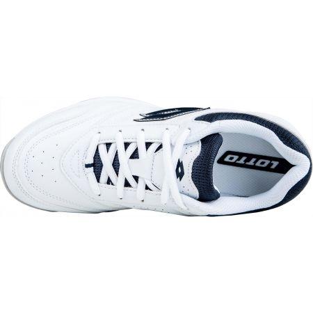 Juniorská tenisová obuv - Lotto COURT LOGO JR LACES - 5
