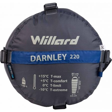Sleeping bag with synthetic filling - Willard DARNLEY 220 - 5
