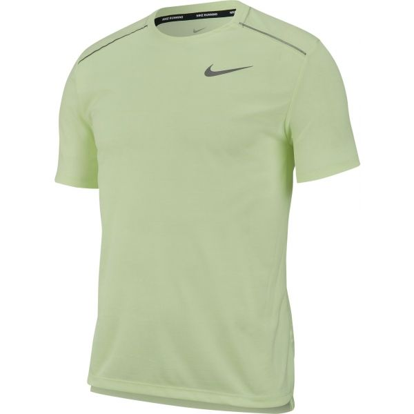 Nike DRY MILER TOP SS zelená L - Pánske tričko