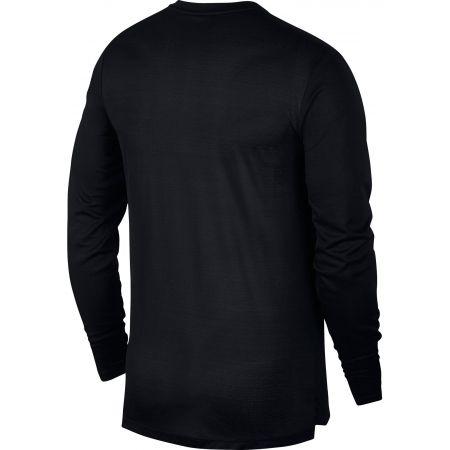Мъжка блуза за бягане - Nike DRY MILER TOP LS - 2