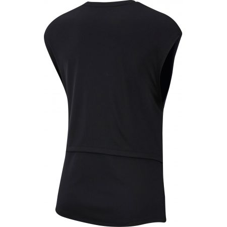 Dámské tričko bez rukávů - Nike TOP SS REBEL GX - 2