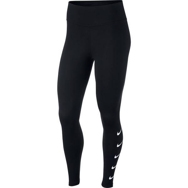 Nike SWOOSH RUN TGHT čierna M - Dámske legíny