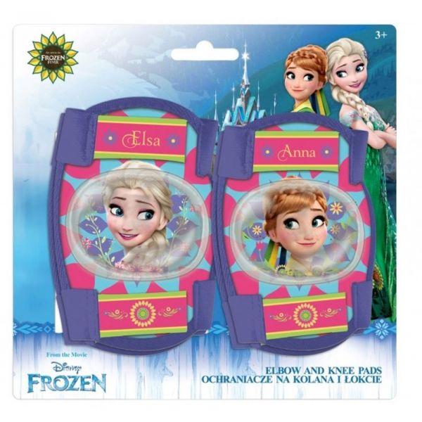 Disney OCHRANIACZE ŁOKCIE + KOLANA niebieski NS - Ochraniacze dziecięce