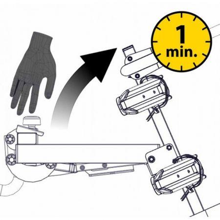 Nosič kol na tažné zařízení - Hakr TRIP 3 MIDDLE - 4