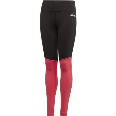 Girls' tights - adidas YG LONG TIGHT - 1