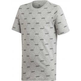 adidas YB CF TEE - Chlapecké tričko