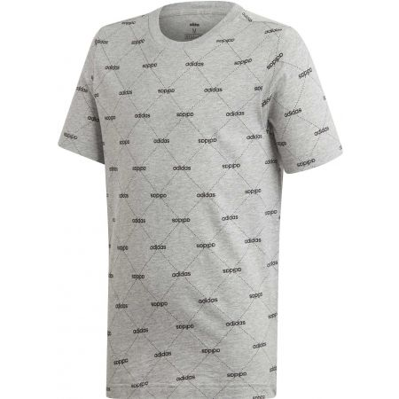 Boys' T-shirt - adidas YB CF TEE - 1