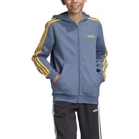 Chlapčenská mikina - adidas YB E 3S FZ HD - 3