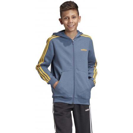 Chlapčenská mikina - adidas YB E 3S FZ HD - 4