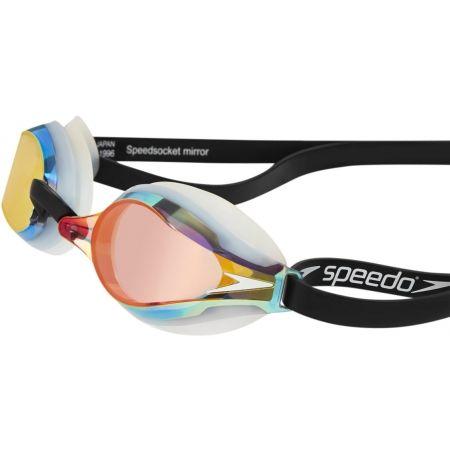 Závodní zrcadlové plavecké brýle - Speedo FASTSKIN SPEEDSOCKET MIRROR - 2