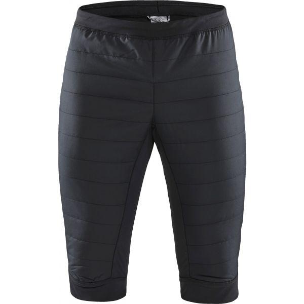 Craft SHORTS STORM THERMAL černá XL - Pánské zateplené šortky