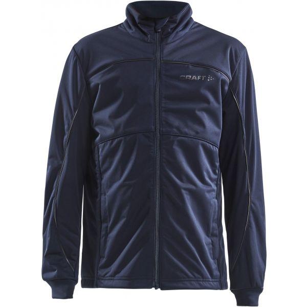 Craft WARM JNR kék 158 - Gyerek bélelt kabát