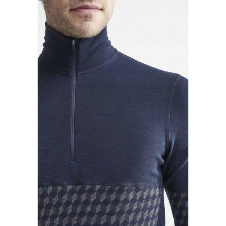 Pánske funkčné tričko - Craft MERINO 240 ZIP LS - 4