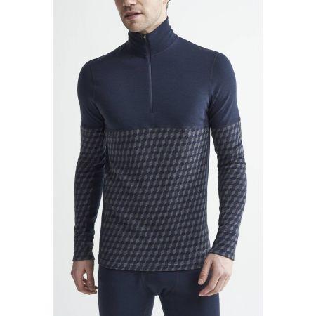 Pánske funkčné tričko - Craft MERINO 240 ZIP LS - 2