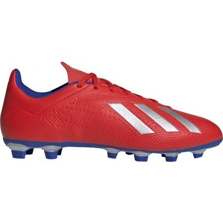 Ghete de fotbal bărbați - adidas X 18.4 FG - 1