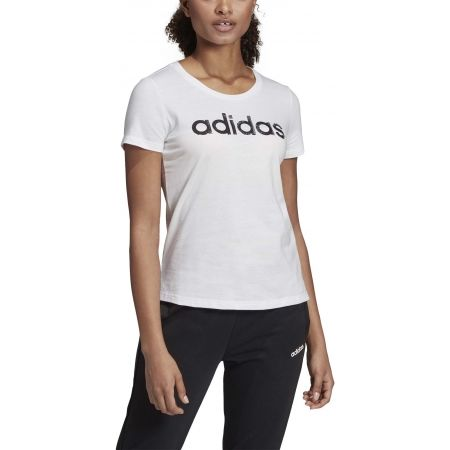 Women's T-shirt - adidas CORE LINEAR TEE 1 - 3
