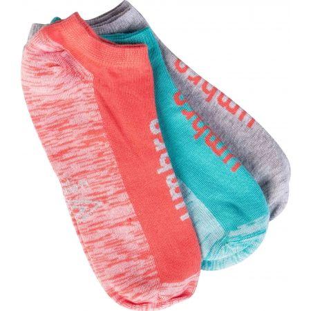 Umbro NO SHOW SOCK 3P - Dámske ponožky