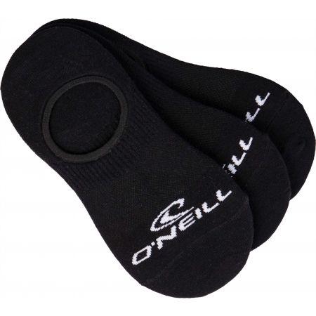 O'Neill FOOTIE ONEILL WHITE 3P - Unisex ponožky