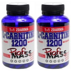 Profimass PROFI L-CARNITINE 1200 60+60 KAPSLÍ - Tablety