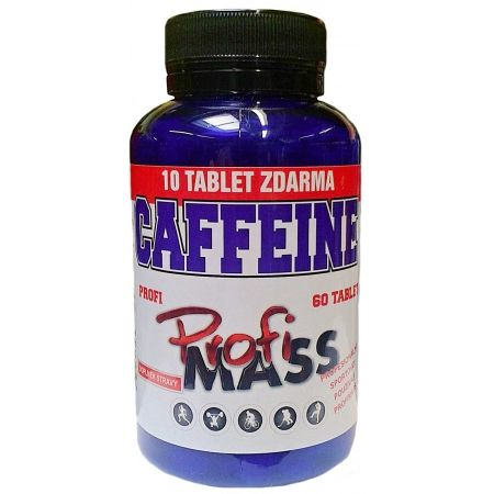 Profimass PROFI CAFFEINE 60+10 TABLIET - Tablety
