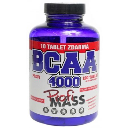 Aminokyseliny - Profimass PROFI BCAA 4000 120+10 TABLET