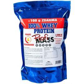 Profimass PROFI 100% WHEY PROTEIN 1000+100G BÍLÁ ČOKOLÁDA - Protein