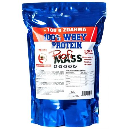 Protein - Profimass PROFI 100% WHEY PROTEIN 1000+100G ČOKO/VIŠEŇ