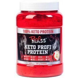 Profimass KETO PROFI PROTEIN 1000+100G BÍLÁ ČOKOLÁDA - Protein