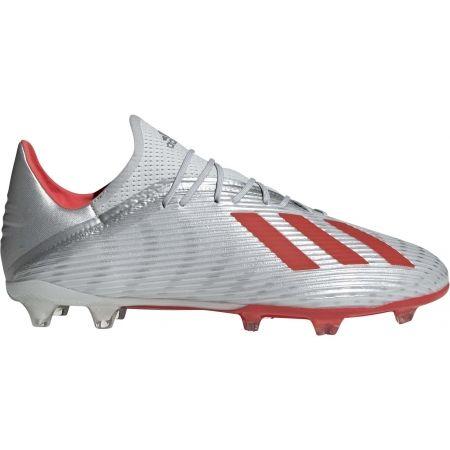 Ghete de fotbal bărbați - adidas X 19.2 FG - 1