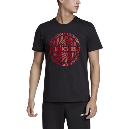 Men's T-shirt - adidas M CRCLD GRFX TEE - 3