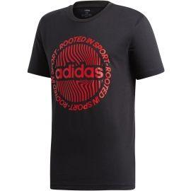adidas M CRCLD GRFX TEE - Pánské tričko