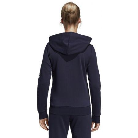 Women's hoodie - adidas ESSENTIALS LINEAR FULL ZIP HOODIE - 7