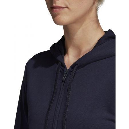 Women's hoodie - adidas ESSENTIALS LINEAR FULL ZIP HOODIE - 8