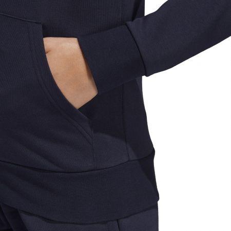 Women's hoodie - adidas ESSENTIALS LINEAR FULL ZIP HOODIE - 9