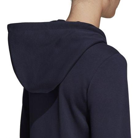 Women's hoodie - adidas ESSENTIALS LINEAR FULL ZIP HOODIE - 10
