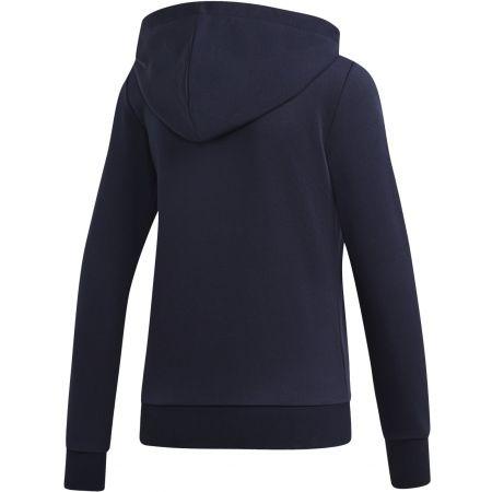 Women's hoodie - adidas ESSENTIALS LINEAR FULL ZIP HOODIE - 2