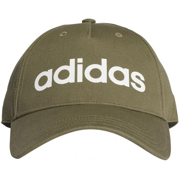 adidas DAILY CAP tmavě zelená  - Kšiltovka