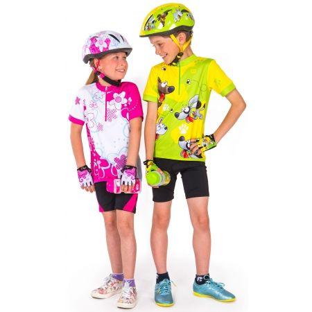 Detské cyklistické rukavice - Etape REX RUKAVICE KIDS - 6